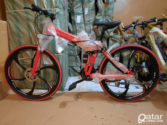 Mercedes Benz folding bicycle