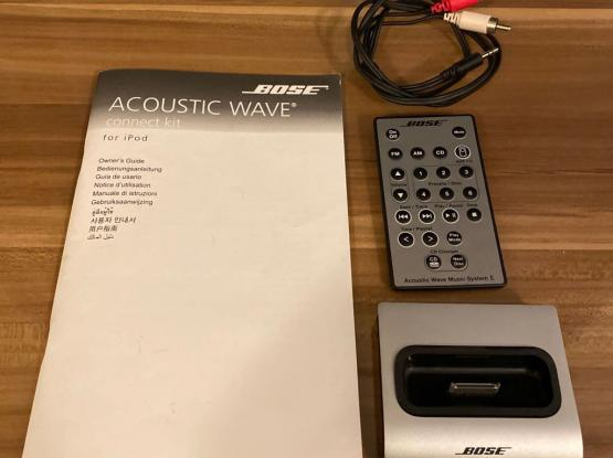 Bose Acoustic Wave  - Power Adapter Missing