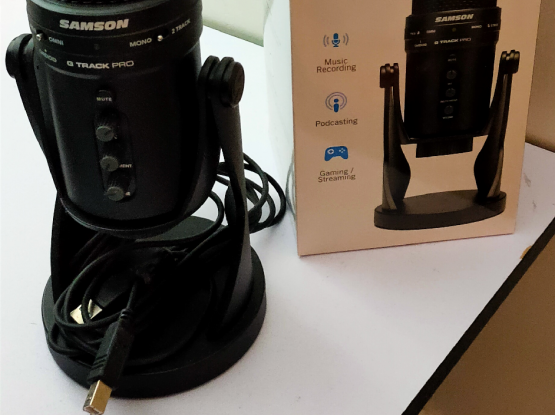 Samson G-Track Pro USB Microphone
