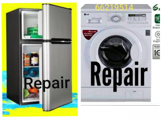 Washing machine, Fridge, AC service repair.Please