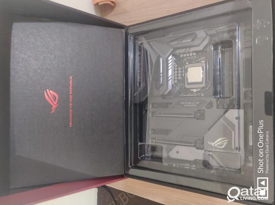 Asus Maximus X CODE /I7 8700K