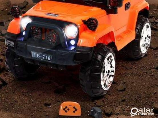 Rechargeable Battery Toy Jeep