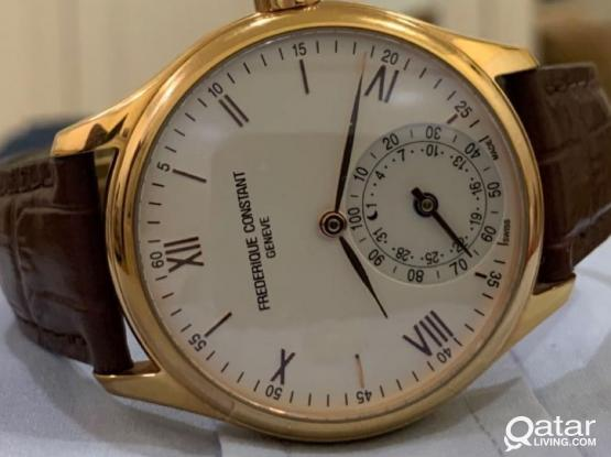 Fredreque Constant Horological Watch