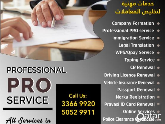 CALL 33669920| we do all type of PRO (Public Relational Officer) Service