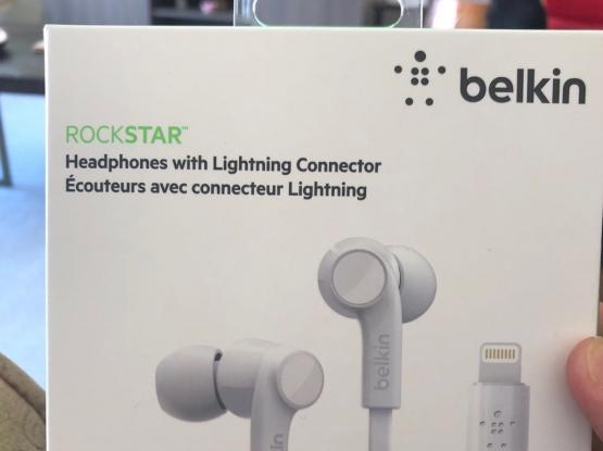 Belkin Headphones Iphone Unusedسماعات ايفون جديدة