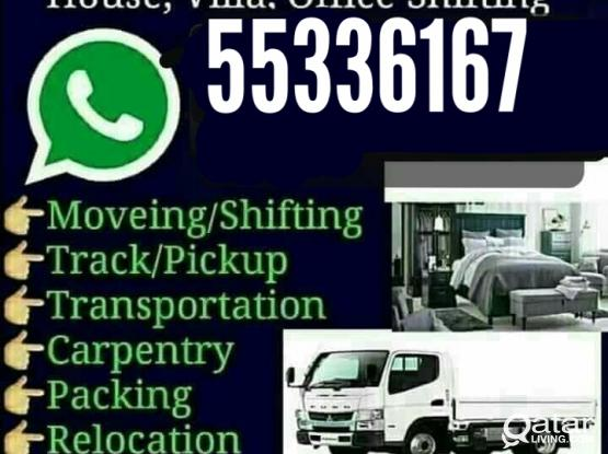 Shifting and moving service  If needed, please  call 55336167