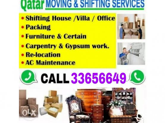 All kinds of Moving and shifting tasks 33656649 for good price. Professional works. Please call 33656649