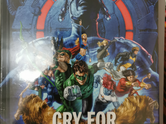 Justice League Cry for Justice