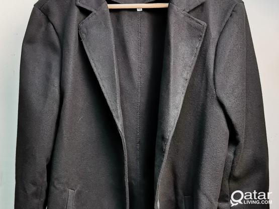 Black Fashion Long Sleeve Coat by Sheechoshop (M)