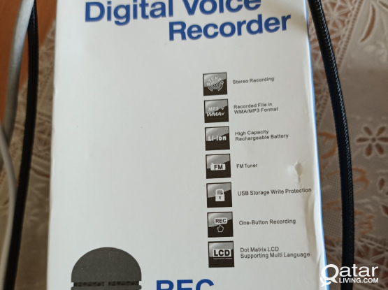 Sound recorder and MP3 player