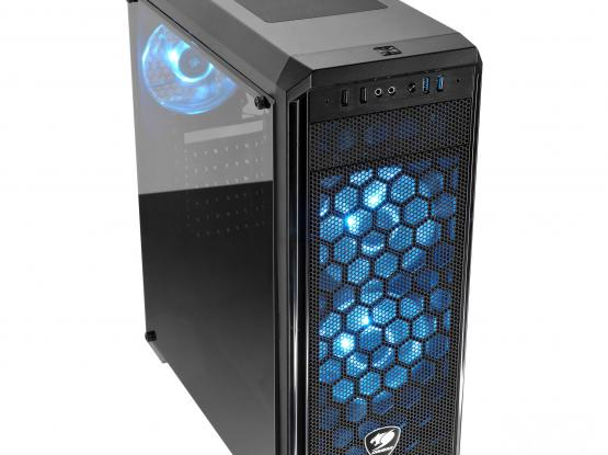 "Cougar Gaming Pc - i7-16GB RAM-500GB SSD (Brand New) - Gaming Pc 24""LED monitor(33176355)"