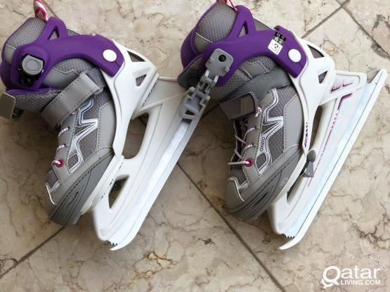 Adjustable Kids Ice Skates-Oxelo Brand