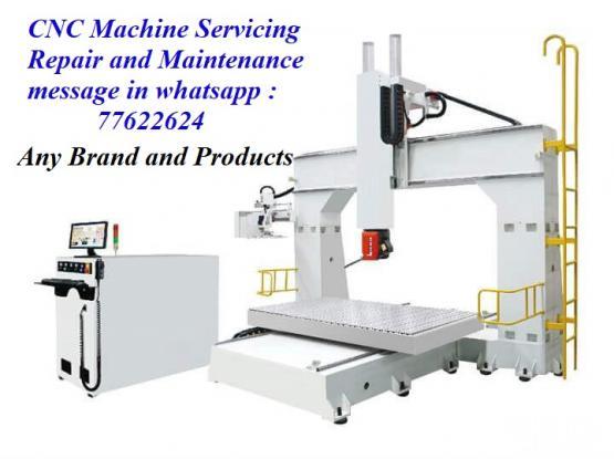 CNC Machine servicing