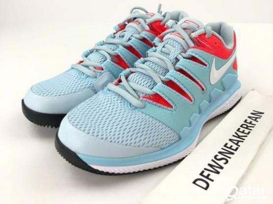 Women's Nike Air Zoom Vapor HC Tennis Shoes Blue