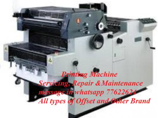 Printing Machine Servicing