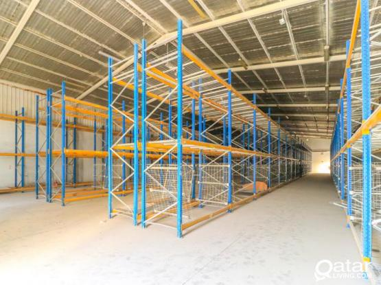 1300sqm Chiller and Dry Food warehouse