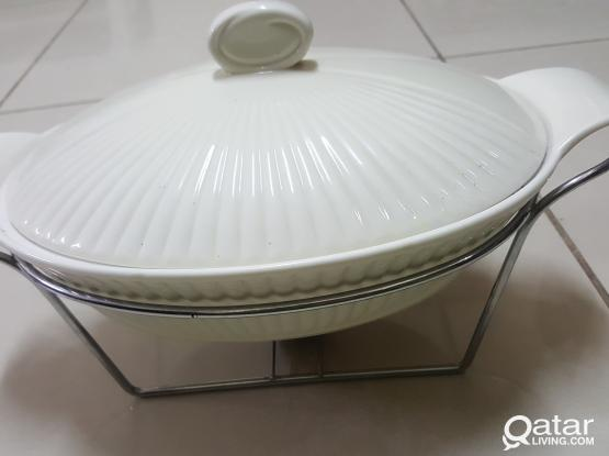 Ceramic Food Warmer
