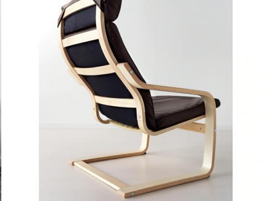 IKEA  Armchair & footstool