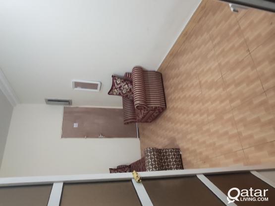 Furnished room 4 rent @Qar.1200 Wakra KFC