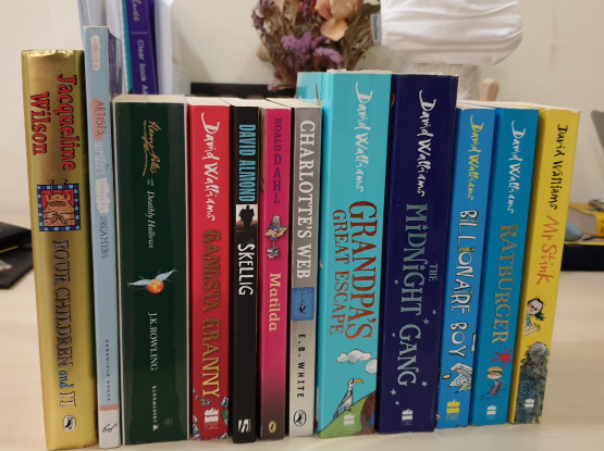 David Walliams books and others