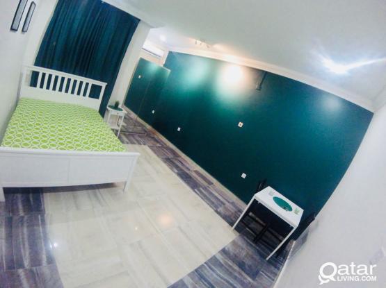 Fully furnished studio apartment - Near Dar AL Salam Mall