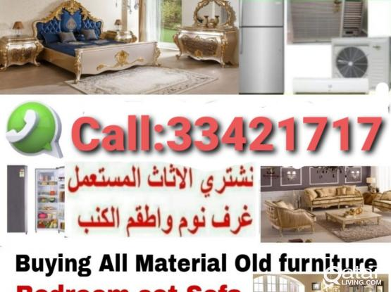 Buying & Selling all  king of house hold Item full Bedroom set,Tv set, A/C, Elections, fridge, Aluminum, kitchen Cabinet, Washing Machinen, etc. Call & Whatsapp Me:-974:-33 42 17 17.Our service  24/7 hold of Doha City Qata.