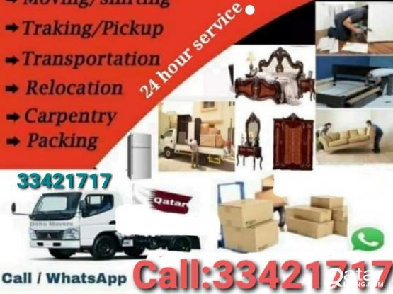 Doha Best Moving & Shifting Co.  Buying all kinds of house hold used furniture item & A/C remove & Fixen Call & WhatsApp Me:-974-33421717.our service 24/7 hour big truck driver & Carpenter any Furniture item Work.Non stop Holiday work.Now Discount offer.
