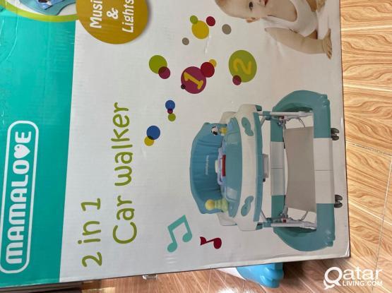 2 In 1  Baby Car Walker