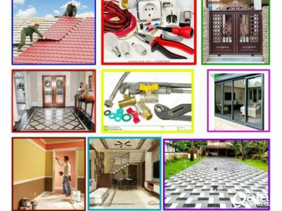 Maintenance services, Painting,steel door, Parking gypsum decor, water proofing. Please call 55430755