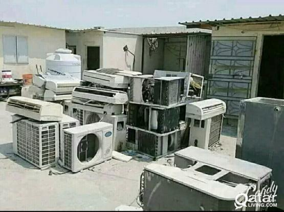 AC/ Selling and Fixing, Servicing, Repairing, Gass Filling, Cleaning, Removing. We Buye Used and Damage A/C.(Service 24 Hours)50400164.