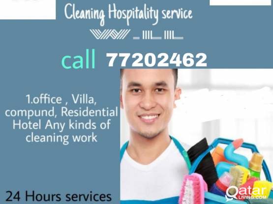 Doha House cleaning service call 7720 2462