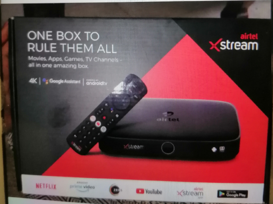 Airtel Xtream set top box brand new unit