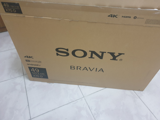 Sony box only 49