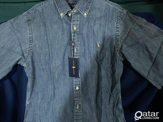 Denim Polo ralphlauren shirt Size M