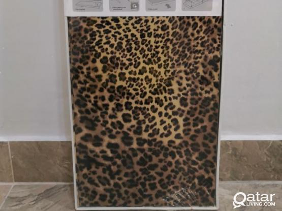 HomeCentre Shelf Leopard Print