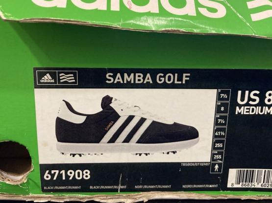 Adidas Samba Golf shoes Size 8 Mens/medium