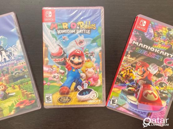 Factory Sealed Nintendo Switch Games