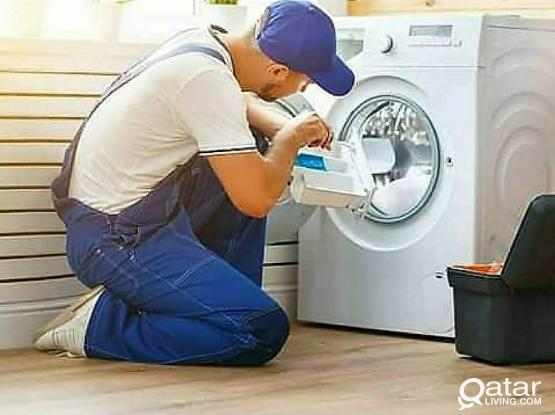 Washing machine for repair and