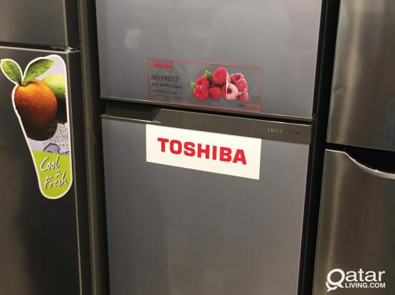 Brand new Toshiba Inverter Fridge - 290 Litres
