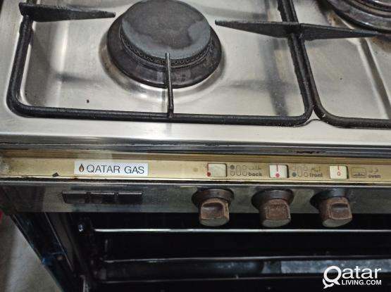 Gas Range Stove with 5 Barnal