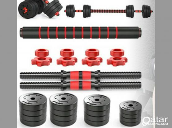 40Kg Dumbbell & barbell set (Free Delivery in some areas)