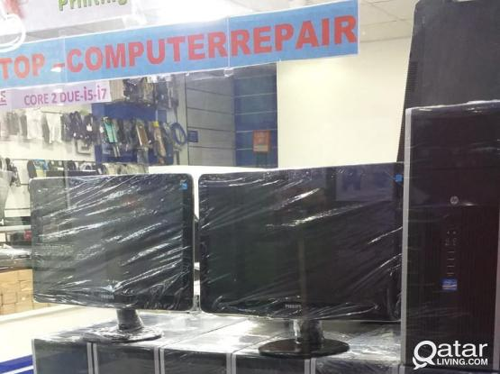 Desktop Computers for Sale in Qatar. (Used)