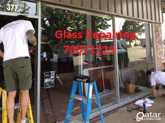 Glass Repairing we do