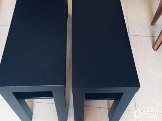 One coffee table and 2 side tables IKEA