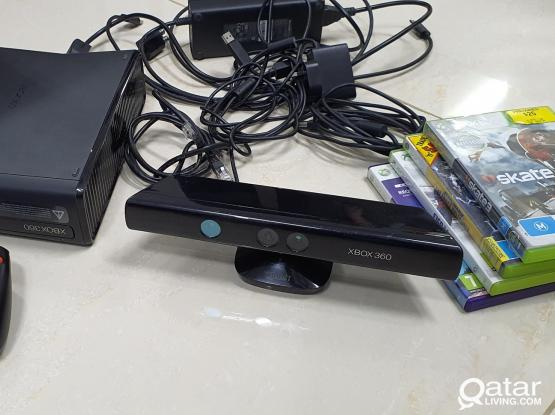 Xbox with Kintect and games  - 250GB