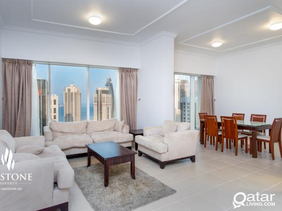 Live The Big City Life at 3BR Apartment in West Bay