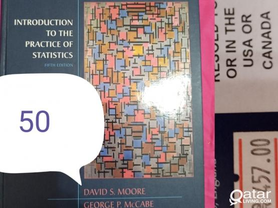 Introduction to statistics book with CD included