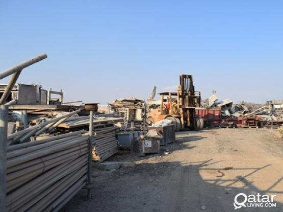 SCRAP LAND FOR RENT IN INDUSTRIAL AREA 5600 SQMTR