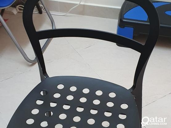 Chair (Aluminium & Steel) from IKEA ( 2 pcs)
