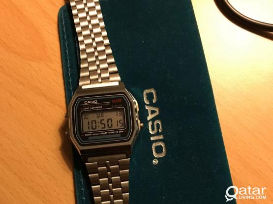 Original Casio Retro Digital Watch